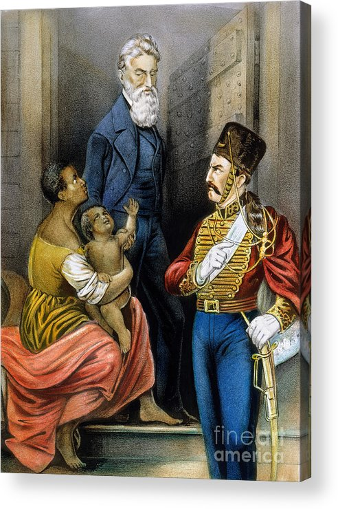 19th Century Acrylic Print featuring the photograph John Brown (1800-1859) by Granger
