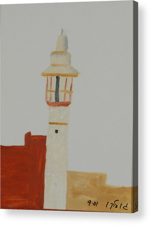 Religious Acrylic Print featuring the painting Mosque by Harris Gulko