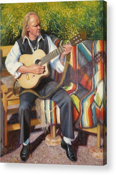 Realism Acrylic Print featuring the painting Por Tu Amor by Donelli DiMaria