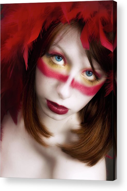 Acrylic Print featuring the photograph Savage by Neil Shapiro