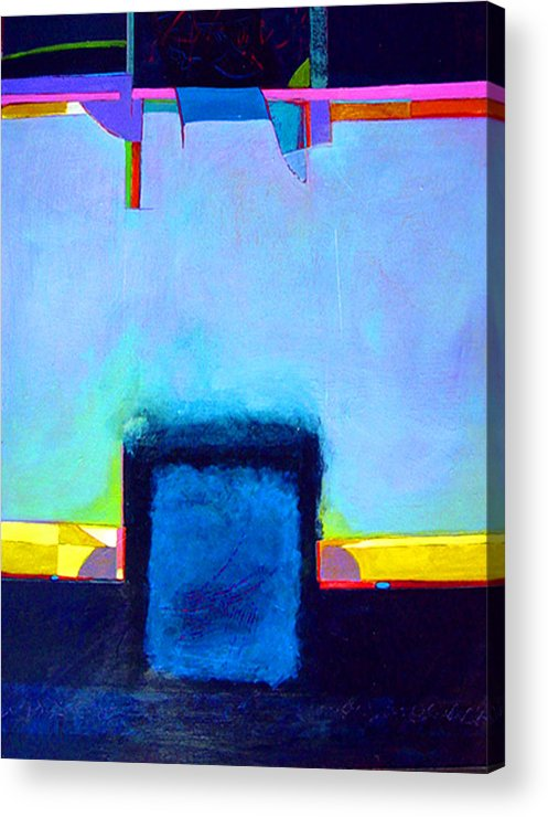 Acrylic Print featuring the painting Softened Boundaries by Dale Witherow