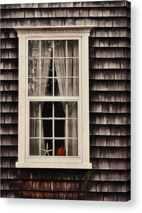Window Acrylic Print featuring the photograph Starfish Wish by JAMART Photography
