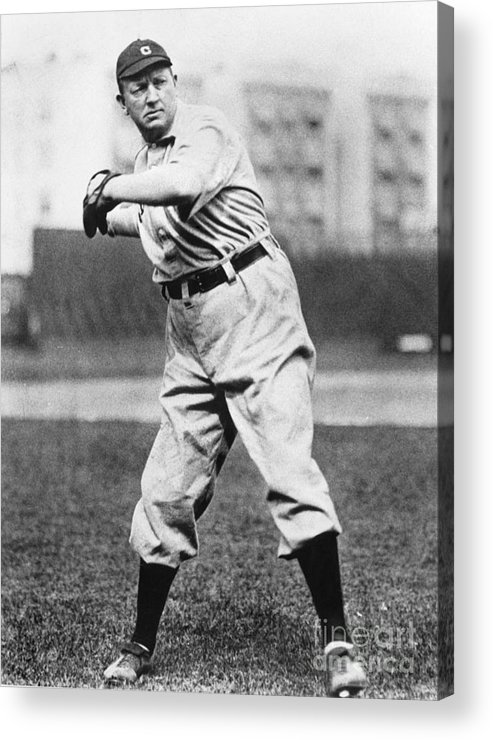 People Acrylic Print featuring the photograph Cy Young by National Baseball Hall Of Fame Library