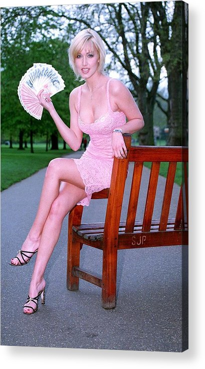 Jez C Self Acrylic Print featuring the photograph Emma Noble 2 by Jez C Self