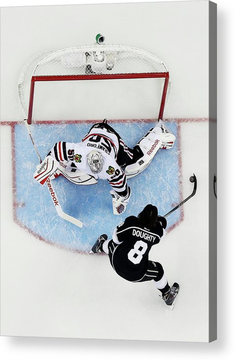 Event Acrylic Print featuring the photograph 2015 Honda Nhl All-star Skills by Kirk Irwin