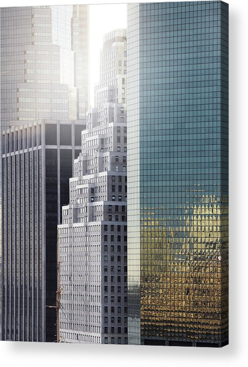 Tranquility Acrylic Print featuring the photograph New York by Henrik Sorensen