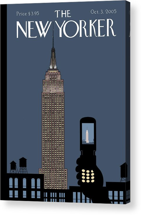 Hold Still Acrylic Print featuring the painting Hold Still by Chris Ware