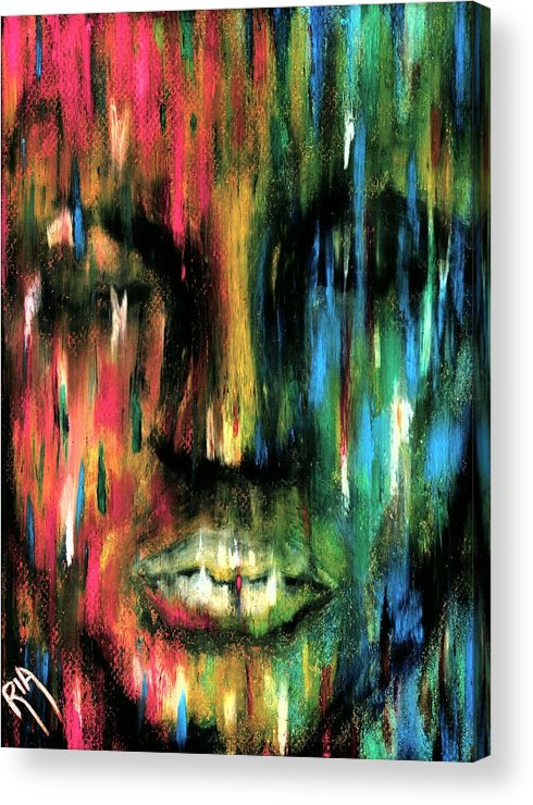 Colorful Acrylic Print featuring the photograph ColorBlind by Artist RiA