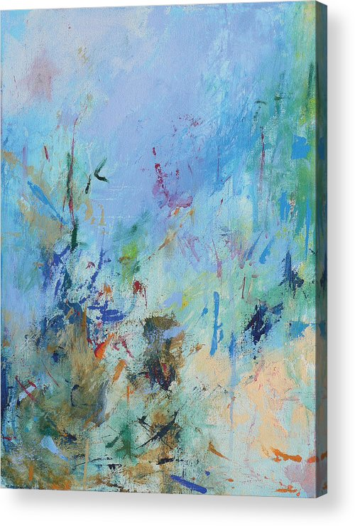 Copland Acrylic Print featuring the painting Appalachian Spring by Jacquie Gouveia