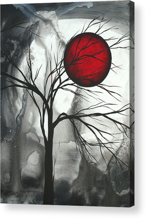 Huge Acrylic Print featuring the painting Blood of the Moon 2 by MADART by Megan Duncanson