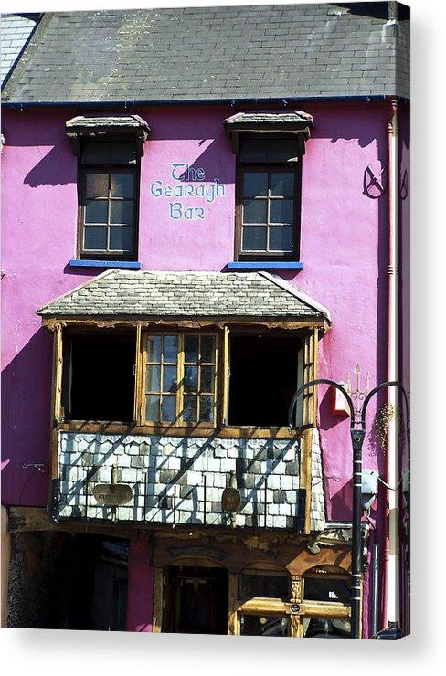 Irish Acrylic Print featuring the photograph Gearagh Pub in Macroom Ireland by Teresa Mucha