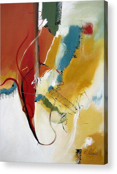 Christian Abstract Acrylic Print featuring the painting Redemption by Ruth Palmer