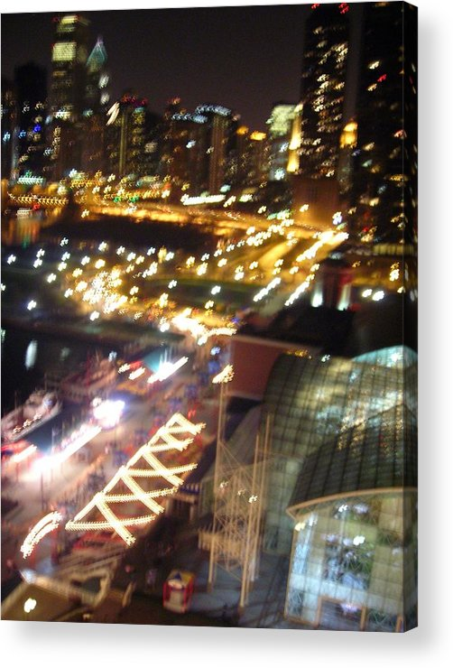 Chicago Acrylic Print featuring the photograph The Fast Lane by Peter Mowry