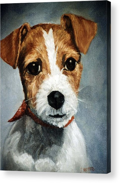 Animal Acrylic Print featuring the painting Turbo by Jimmie Trotter