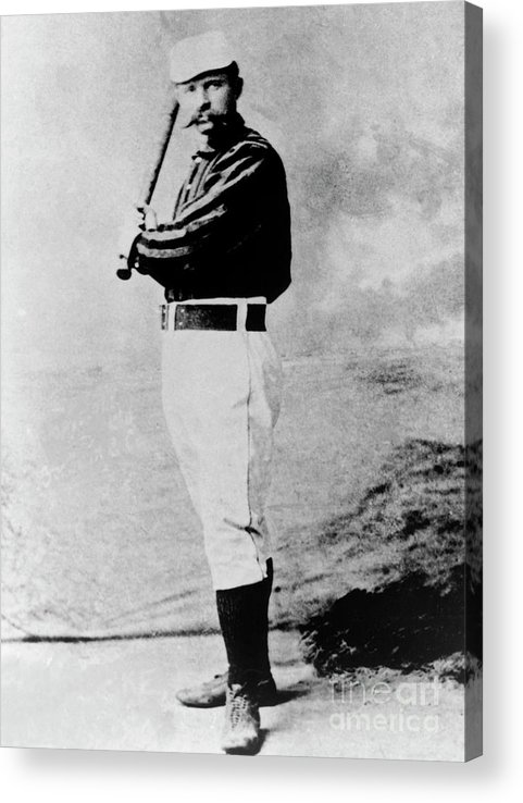1880-1889 Acrylic Print featuring the photograph National Baseball Hall Of Fame Library by National Baseball Hall Of Fame Library