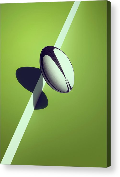 Newcraft Acrylic Print featuring the photograph Sports Shadow by Kelvin Murray