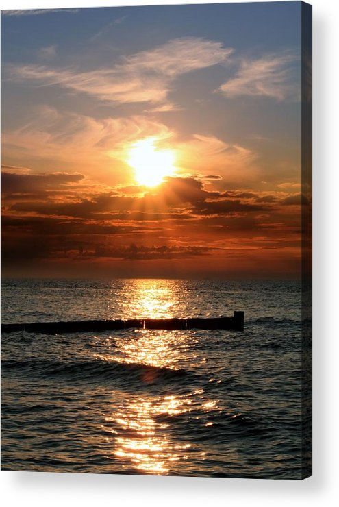 Tranquility Acrylic Print featuring the photograph Baltic Sunset by © Jan Zwilling