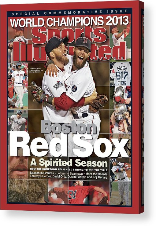 St. Louis Cardinals Acrylic Print featuring the photograph Boston Red Sox, World Champions 2013 A Spirited Season Sports Illustrated Cover by Sports Illustrated