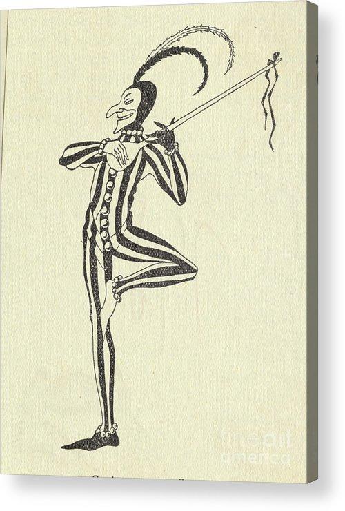 People Acrylic Print featuring the photograph Illustration Of A Humorous Casanova by Bettmann