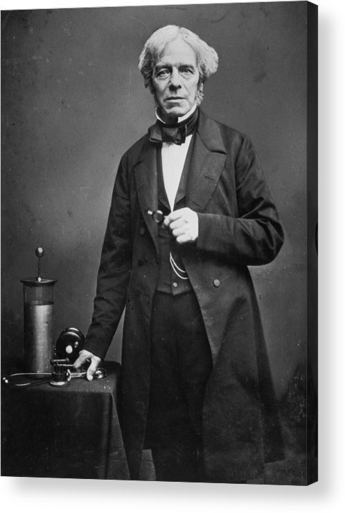 Physicist Acrylic Print featuring the photograph Michael Faraday by Hulton Archive