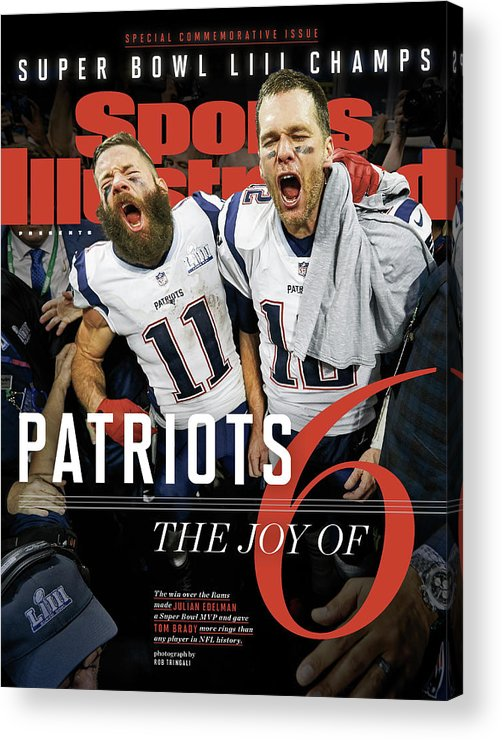 Atlanta Acrylic Print featuring the photograph New England Patriots, Super Bowl Liii Champions Sports Illustrated Cover by Sports Illustrated