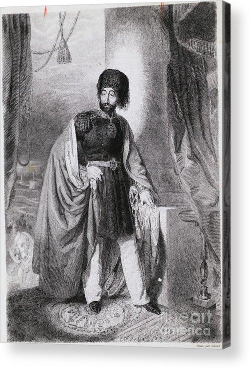Art Acrylic Print featuring the photograph Portrait Of Turkish Emperor Mahmoud by Bettmann