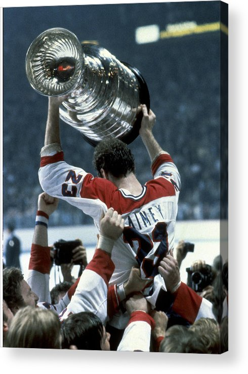 Playoffs Acrylic Print featuring the photograph Stanley Cup Finals - Game 5 New York by B Bennett