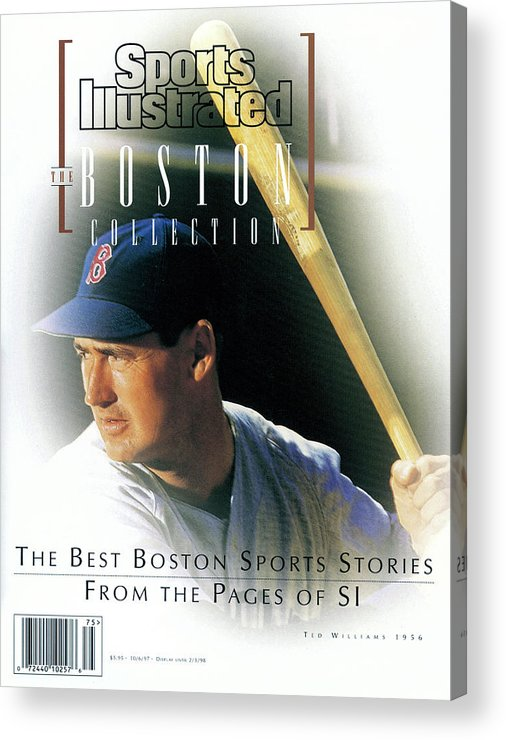 People Acrylic Print featuring the photograph The Boston Collection The Best Boston Sports Stories From Sports Illustrated Cover by Sports Illustrated