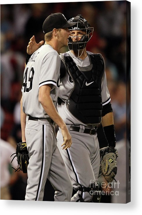 People Acrylic Print featuring the photograph Chris Sale by Elsa