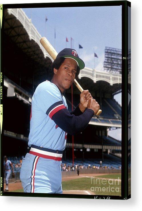 American League Baseball Acrylic Print featuring the photograph Rod Carew by Louis Requena