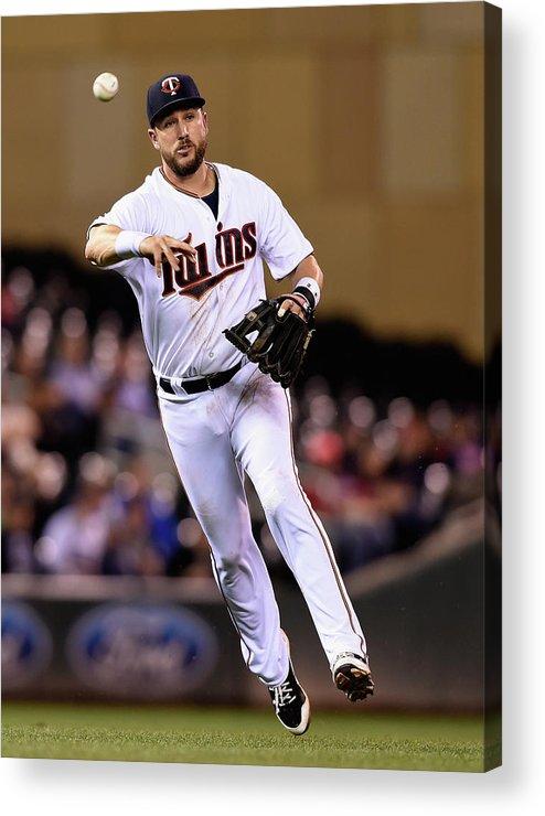 People Acrylic Print featuring the photograph Trevor Plouffe by Hannah Foslien