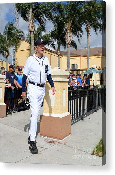 People Acrylic Print featuring the photograph Al Kaline by Mark Cunningham
