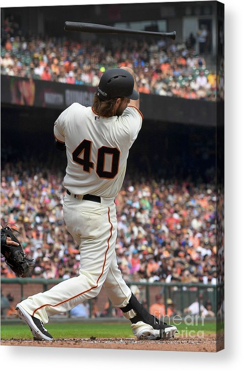 San Francisco Acrylic Print featuring the photograph Madison Bumgarner by Thearon W. Henderson