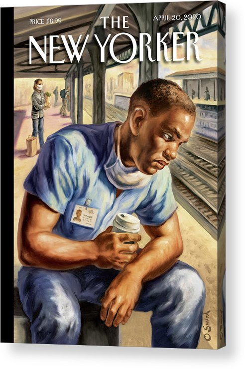 Health Acrylic Print featuring the painting After The Shift by Owen Smith