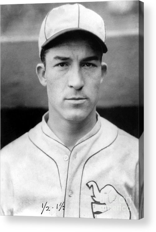 American League Baseball Acrylic Print featuring the photograph Al Simmons by National Baseball Hall Of Fame Library