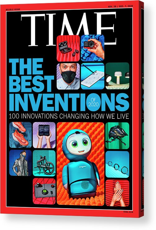 2020 Best Inventions Acrylic Print featuring the photograph Best Inventions 2020 by Photographs by Jessica Pettway for TIME