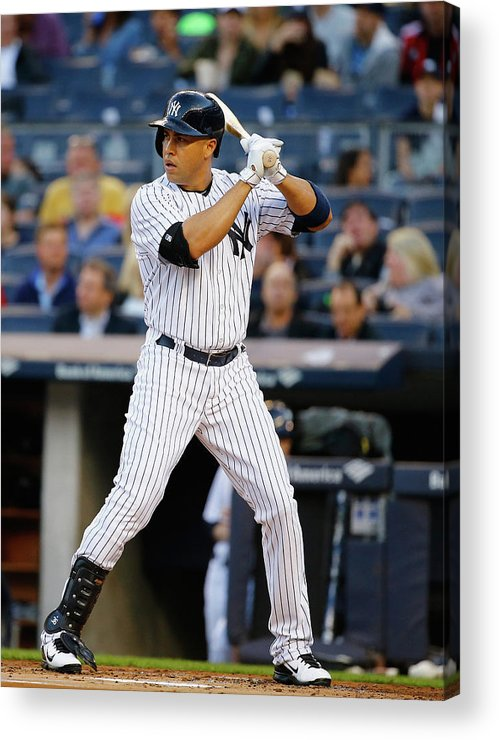People Acrylic Print featuring the photograph Carlos Beltran by Al Bello