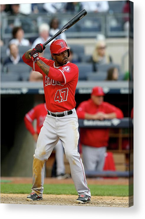 Ninth Inning Acrylic Print featuring the photograph Howie Kendrick by Elsa