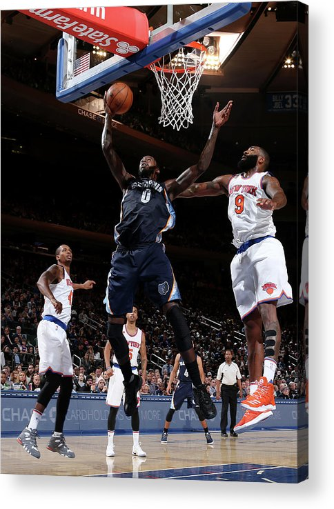 Nba Pro Basketball Acrylic Print featuring the photograph Jamychal Green by Nathaniel S. Butler