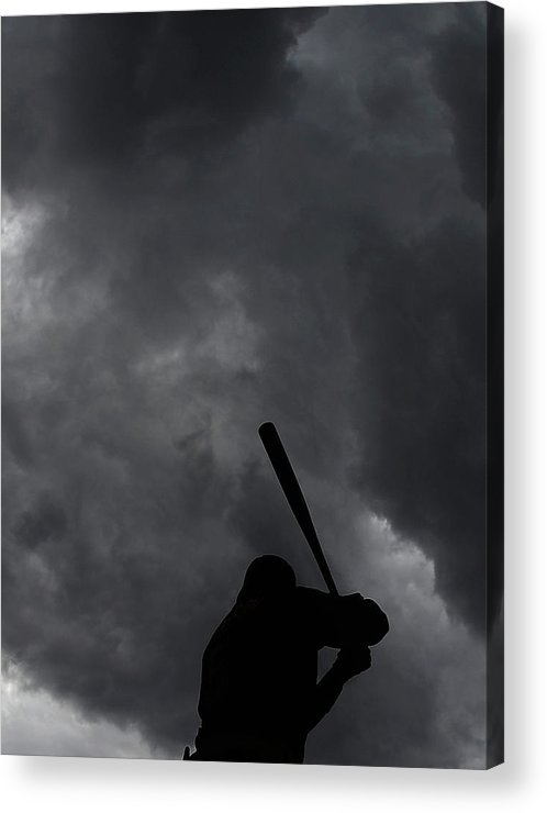 People Acrylic Print featuring the photograph Josh Harrison by Christian Petersen