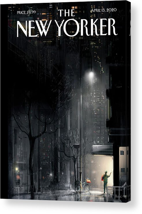Lifeline Acrylic Print featuring the painting Lifeline by Pascal Campion