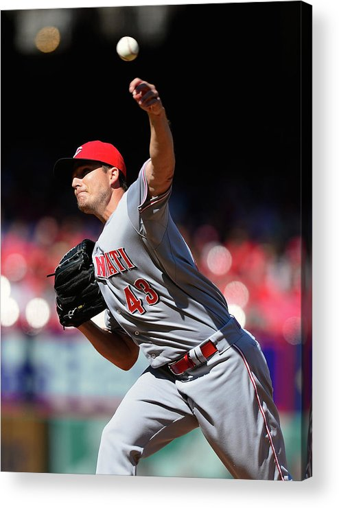 Ninth Inning Acrylic Print featuring the photograph Manny Parra by Jeff Curry