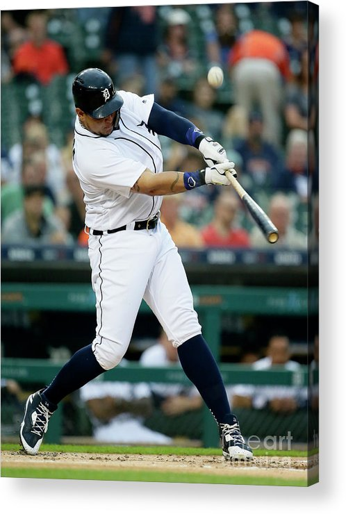 People Acrylic Print featuring the photograph Miguel Cabrera by Duane Burleson