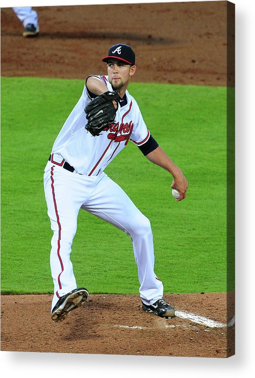 Atlanta Acrylic Print featuring the photograph Mike Minor by Scott Cunningham