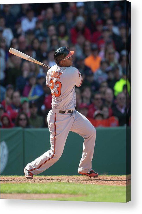 East Acrylic Print featuring the photograph Nelson Cruz by Rob Tringali
