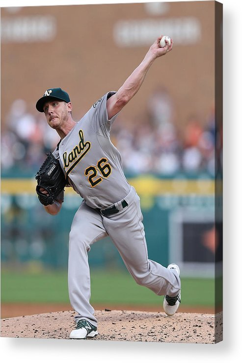 Second Inning Acrylic Print featuring the photograph Scott Kazmir by Leon Halip