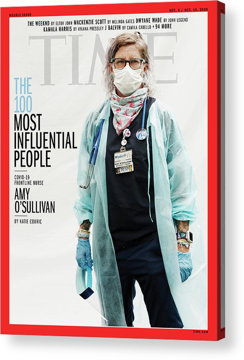 Time 100 Most Influential People Acrylic Print featuring the photograph TIME 100 - Amy O'Sullivan by Photograph by Paola Kudacki for TIME