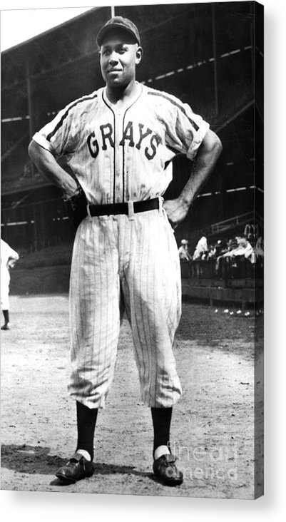 African Ethnicity Acrylic Print featuring the photograph Buck Leonard by National Baseball Hall Of Fame Library