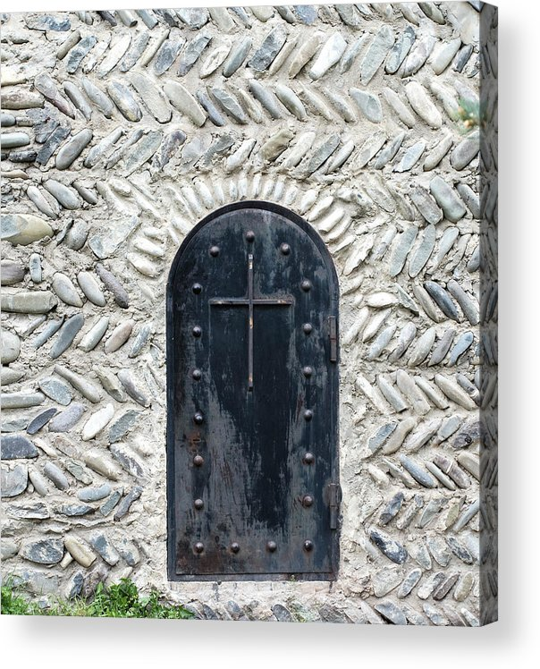 Arch Acrylic Print featuring the photograph Medieval Door by ????? ???????