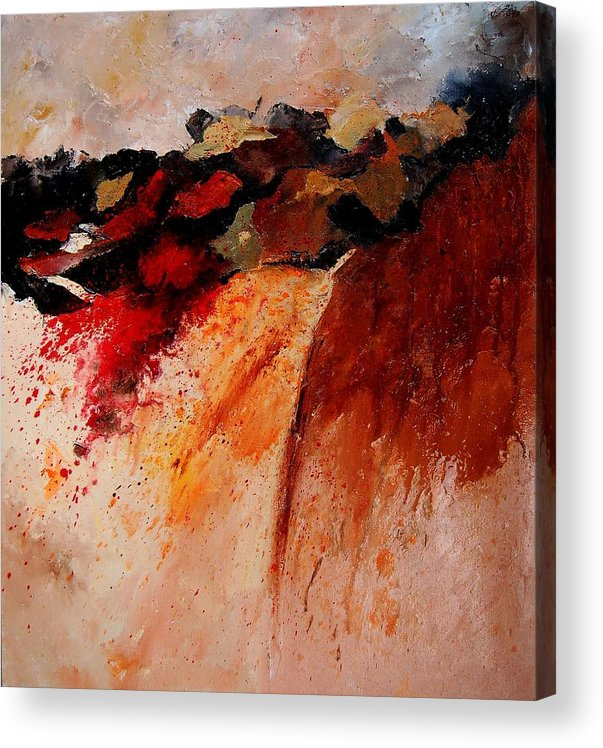 Abstract Acrylic Print featuring the painting Abstract 010607 by Pol Ledent
